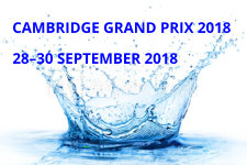 Cambridge Grand Prix 2018; 28-30 September 2018
