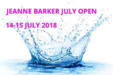 Jeanne Barker July Open; 14-15 July 2018